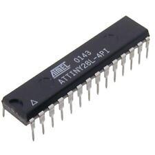 ATTINY 28l-4pi Atmel-AVR-RISC-µC 4mhz ATTINY dip28s