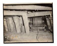 1910 Pennsylvania DIAMOND COAL MINE Supports/Drum Photo