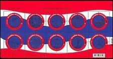 Thailand 2007 Regions/Seals/Coats-of-Arms/Elephant/Temple/Goddess 10v sht n37412
