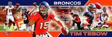 Tim Tebow Quarterback Denver Broncos Photoramic #1015
