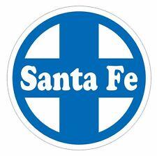 Santa Fe Railroad Sticker R581 Train