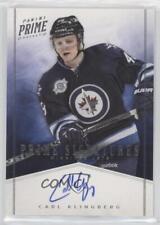 2011-12 Panini Prime Signatures 55 Carl Klingberg Winnipeg Jets Auto Hockey Card
