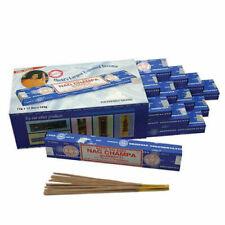 ❤️ Bulk Buy 3 or 12 Pack Box 15g Satya Insence Nag Champa Incense Joss Sticks