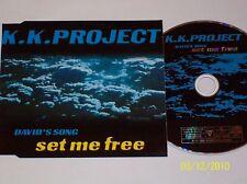 K. K. Project : David's Song - Set Me Free (Maxi / 1999