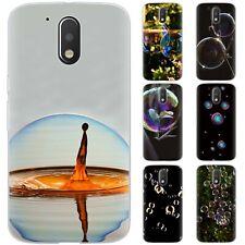 dessana Seifenblasen Silikon Schutz Hülle Case Handy Tasche Cover für Motorola