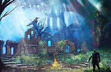 Dark Souls Art Poster Print |5 Sizes| RPG PS4 Xbox360 PC Demons Souls Bloodborne