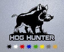 STICKER PEGATINA DECAL VINYL Hog Hunter,Wild boar