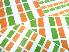 Southern Ireland Self-Stick Flag Labels Self-Adhesive Irish Flag Stickers