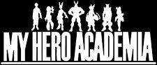 My Hero Academia - Logo - Anime Decal Sticker for Car/Truck/Laptop