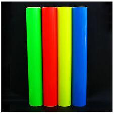 (12,99€/m²) Plotterfolie Neon Folie Plottfolie Markierungsfolie Fluoreszierend