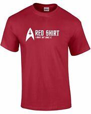 Star Trek Cardinal Red Shirt / T-Shirt / TEE - Might not Make It (Various Sizes)