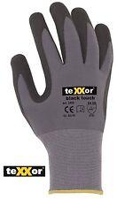 BLACK TOUCH® von teXXor® Arbeitshandschuh Handschuh Nitril Garten Bau Metall