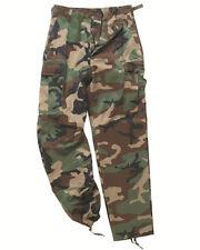 EE.UU. Pantalón Ranger Tipo BDU WOODLAND, camping, exterior, MILITAR -nuevo