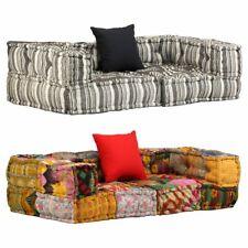 vidaXL Canapé Modulaire à 2 Places avec Accoudoir Tissu Sofa Salon Multicolore