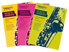 Trinity College de Londres moments musicaux saxophone alto Livre 1,2,3