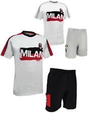 Pigiama uomo manica corta ACM Milan abbigliamento ufficiale Milanisti PS 23567