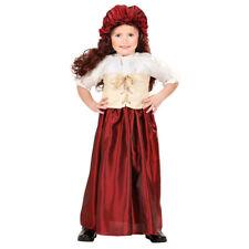 Small Maid Costume Farmer's Wife Childrens Fancy Dress Girl Larp