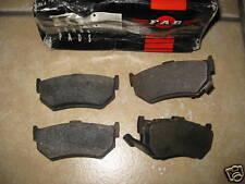 Nuevas Pastillas de freno trasero-se adapta a: Honda Accord-ASD & preludio-aab - 1.8 (1983-88)
