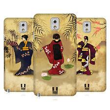 Case Designs Vintage geisha duro HEAD Funda trasera para Teléfonos SAMSUNG 2