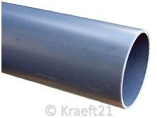 PVC-U Rohr Druckrohr Kleberohr 10 bar Klebeverbindung OHNE Muffe Klebefitting