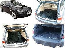 3pc modular boot liner load mat bumper protector BMW 5 series E39 E61 F10 F11