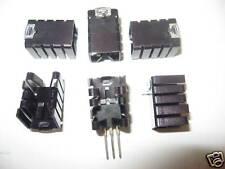 Set of 20 Heatsinks Radiators Clip on for To220