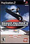 1 of 1 - Shaun Palmer's Pro Snowboarder (Sony PlayStation 2, 2001)      FREE POSTAGE