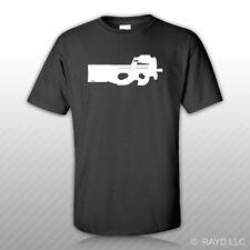 P90 T-Shirt Tee Shirt Gildan S M L XL 2XL 3XL Cotton P-90 Fn Herstal