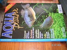 Aqua Plaisir n°17 Gourami Veuve Noir Algues Labroides