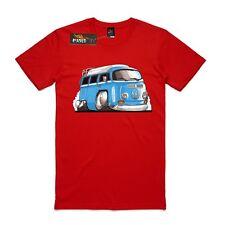 T-shirt AS Colour Custom Print VW Kombi Camper van, surf, old school cars.
