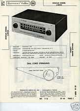Dewald Model L-803A Tuner - Sams Photofact