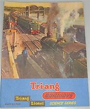 TRI ANG Ferrovie LIONEL Ninth EDIZIONE CATALOGO CARTELLA # Å