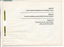 Zündapp 518 Ersatzteilliste Tafel 21/1 Vorderradgabel Moped Deutschland Zundapp