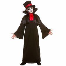 Figlio mortale Mietitore Halloween Ragazzi Costume Bambini Scheletro Horror Grim