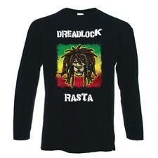 Rastas Rasta Manga Larga T-Shirt-Reggae Rastafarian Bob Marley-S A LA XXL