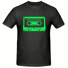 Verde Cassette T Shirt, original, divertido, Para Hombre T shirt,sm-2xl