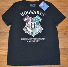Hogwarts Short Sleeve Juniors Top Officially Licensed Harry Potter T-Shirt Tee