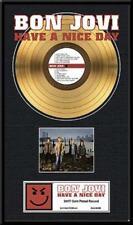BON JOVI - HAVE A NICE DAY GOLDENE SCHALLPLATTE LP20001