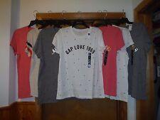 Short Sleeve Logo Gap Women's T-Shirts 2XL,XL,L,M,S,GAP Some Color NWT
