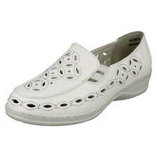 Mesdames Ronzo Bout Fermé Plat Chaussure