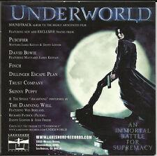 UNDERWORLD Arch Enemy METALLICA Poison The Well IRON MAIDEN Rob Zombie PROMO CD