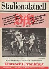BL 82/83  VfB Stuttgart - Eintracht Frankfurt