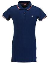 Ladies Merc London Classic Retro Mod Polo Dress - Kara Navy