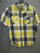 NUEVO One Industries Niños Casual Amarillo Camisa de cuadros MX / BMX / skate