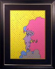 "Peter Max ""Polka Dots"" Hand Signed & Numbered Vintage Serigraph 1971 Make Offer!"