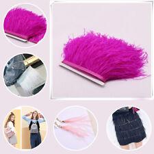 Gallinas de Guinea Feather Flecos Muchos Colores 1 Metro O 30cm sewing//costume//millinery