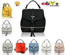 Uk New Ladies 2 IN 1 Mini Shoulder Backpack Bag Women'sHandbag With Zip Detail