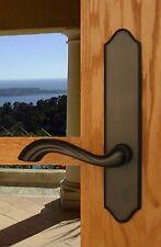 FPL Normandy Inactive Trim Door Lever Back Plates Set; Trim for Multi Point Door