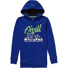 O'Neill Sweatjacke Jacke LB PCH CALIFORNIA FZ HOODIE blau Unifarben