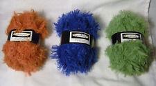 Dept 71 Furrish  Bulky Yarn 100g Color Choice Loom Knit Crochet FS Offer